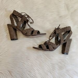 Shoes - Cato heeled sandals.